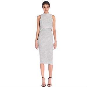 MINKPINK Urban Memories Stripe Bodycon Dress